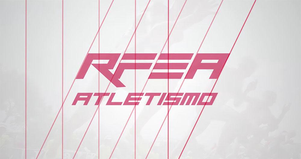 Nuevo logotipo de la rfea con las líneas que han seguido para crearlo